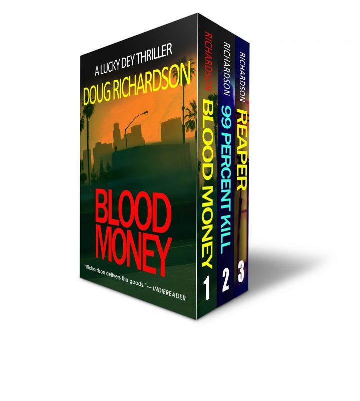 The Lucky Dey Thriller Series: Books 1-3 (The Lucky Dey Series Boxset)